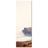 Minimalist Photo - Tall Canvas - Cove Canvas - Scenic Shoreline - Crete Canvas - Mediterranean Decor - Large Canvas - 20 x 60 Canvas - Sylvia Coomes