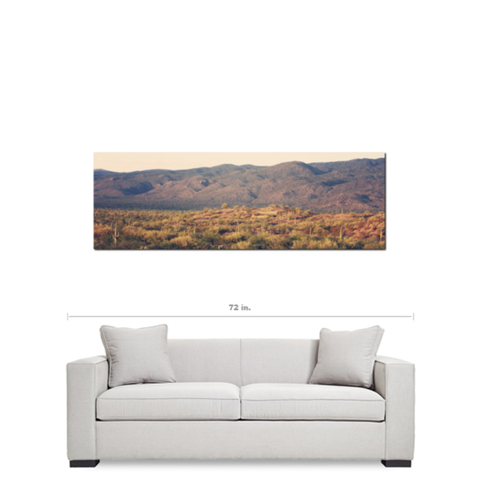 Desert Landscape 8 Fine Art Photography Panoramic 20 x 60 x 1.25 inch Premium Canvas Gallery Wrap