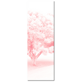 Baby Girl Wall Art - Pink Nursery Decor - Pink and White - Pink Tree Canvas - Nursery Canvas - Baby Girl Art - Flower Photo - 20 x 60 Canvas