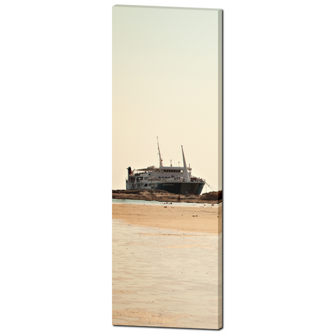 Nautical Bliss Fine Art Photography 20 x 60 x 1.25 inch Premium Canvas Gallery Wrap