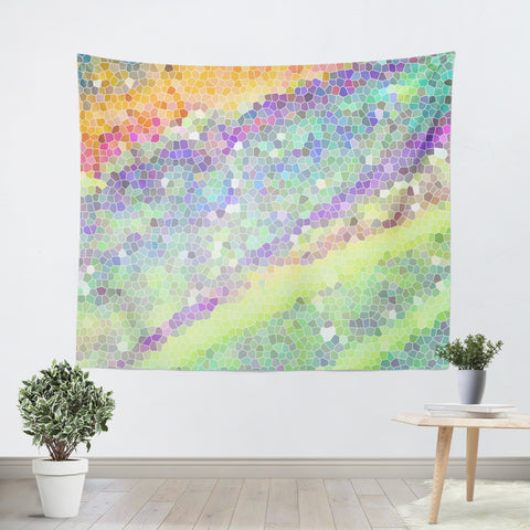 Color Blast 1 Tapestry