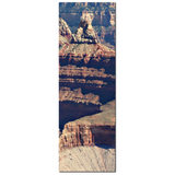 Grand Canyon Canvas - Landscape Photo - S W Decor - Natural Wonder - Tall Canvas - Red Brown and Gold - Large Canvas - 20 x 60 Canvas - Sylvia Coomes