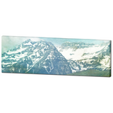 Pastel Mountains Fine Art Photography Panoramic 20 x 60 x 1.25 inch Premium Canvas Gallery Wrap - Sylvia Coomes