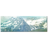Pastel Mountains Fine Art Photography Panoramic 20 x 60 x 1.25 inch Premium Canvas Gallery Wrap