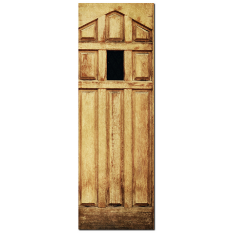 Antique Door Fine Art Photography 20 x 60 x 1.25 inch Premium Canvas Gallery Wrap