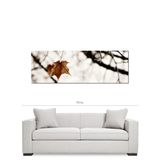 Frozen Fine Art Photography Panoramic 20 x 60 x 1.25 inch Premium Canvas Gallery Wrap - Sylvia Coomes