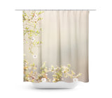 Desert Blooms 1 Shower Curtain - Sylvia Coomes