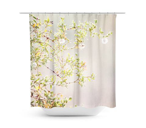 Desert Blooms 3 Shower Curtain - Sylvia Coomes