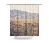 Desert Landscape 2 Shower Curtain - Sylvia Coomes