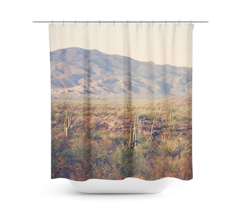 Desert Landscape 2 Shower Curtain