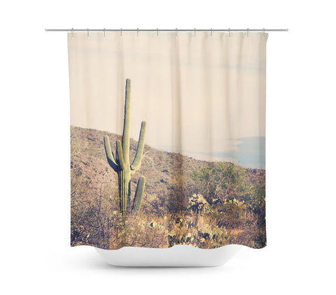 Desert Landscape 4 Shower Curtain - Sylvia Coomes