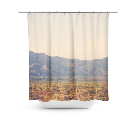 Desert Landscape 7 Shower Curtain - Sylvia Coomes