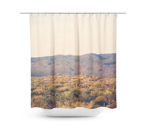 Desert Landscape 8 Shower Curtain - Sylvia Coomes