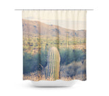 Desert Landscape 9 Shower Curtain - Sylvia Coomes