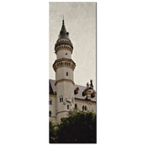 Neuschwanstein Castle Canvas - 20 x 60 Canvas - Panoramic Canvas - German Castle Canvas - Gothic Canvas - Gallery Wrapped Canvas - Photo - Sylvia Coomes
