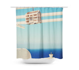 Endless Sea Shower Curtain - Sylvia Coomes