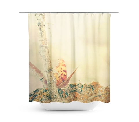 Curtains Ideas butterfly shower curtain : Ethereal Butterfly Shower Curtain | Sylvia Coomes