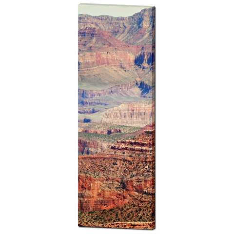 Grand Canyon Photo - SW Landscape - Arizona Art - Home Decor - Tall Canvas - Tranquil - Multi-colors - Large Canvas - 20 x 60 Canvas - Sylvia Coomes