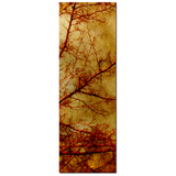 Gothic Red Trees Fine Art Photography 20 x 60 x 1.25 inch Premium Canvas Gallery Wrap - Sylvia Coomes