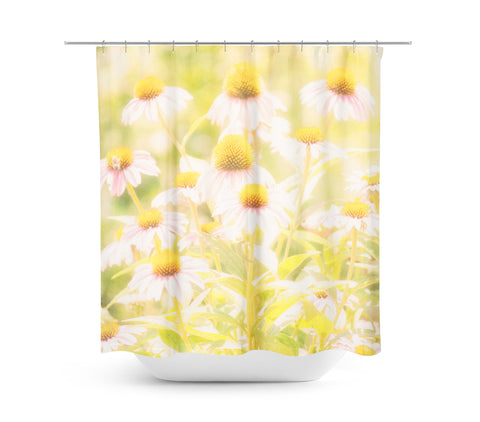 Fields of Flowers Shower Curtain - Sylvia Coomes