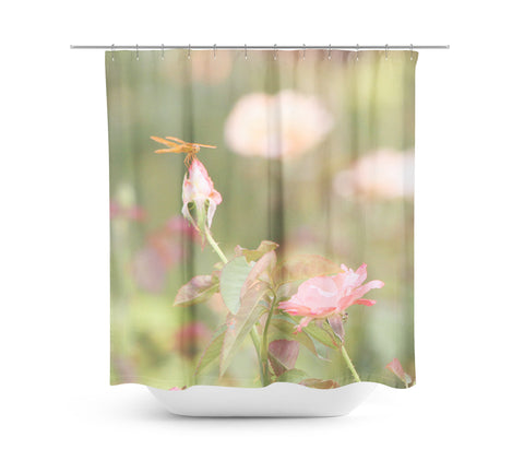 Flowers 14 Shower Curtain - Sylvia Coomes