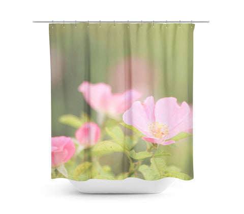 Flowers 6 Shower Curtain - Sylvia Coomes