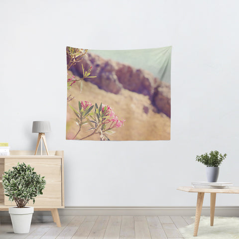 Flowers in Paradise 1 Tapestry - Sylvia Coomes
