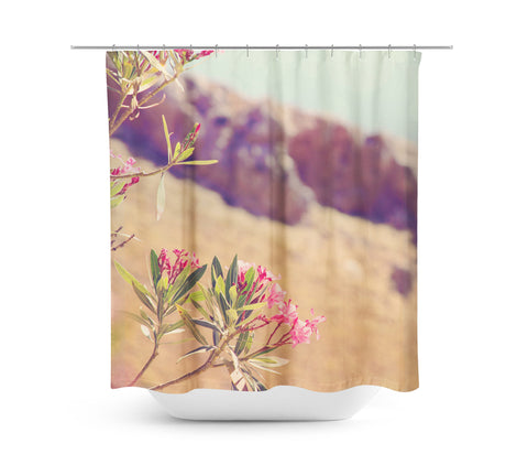Flowers in Paradise 1 Shower Curtain