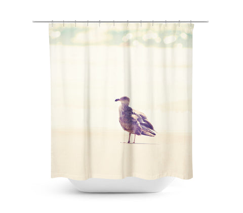 Go Left Shower Curtain - Sylvia Coomes