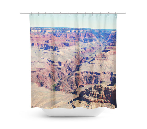 Grand Canyon 3 Shower Curtain - Sylvia Coomes