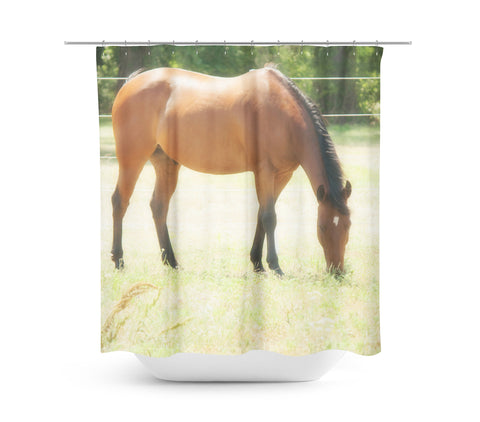 Grazing Shower Curtain - Sylvia Coomes
