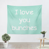 I Love You Bunches Tapestry - Sylvia Coomes