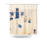 In Santorini 2 Shower Curtain - Sylvia Coomes
