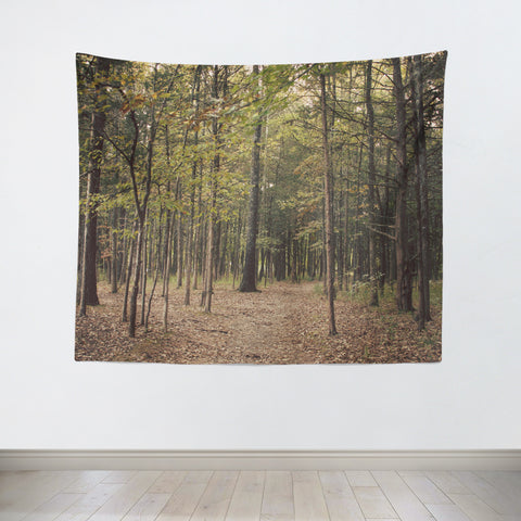 In the Woods 1 Tapestry - Sylvia Coomes