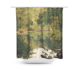 In the Woods 3 Shower Curtain - Sylvia Coomes