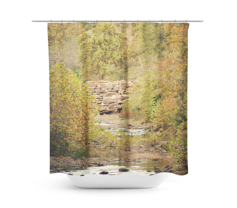 In the Woods 4 Shower Curtain - Sylvia Coomes