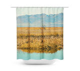 Landscape Reflection Shower Curtain - Sylvia Coomes