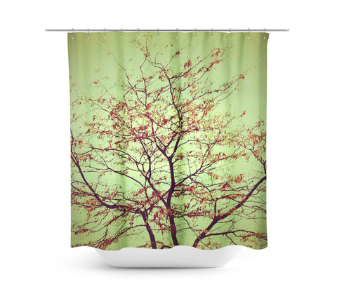 Last Days of Fall Shower Curtain
