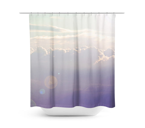 Lavender Sky Shower Curtain - Sylvia Coomes