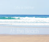 Life is Better at the Beach Tapestry - Sylvia Coomes