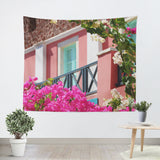 Lovely Santorini Tapestry