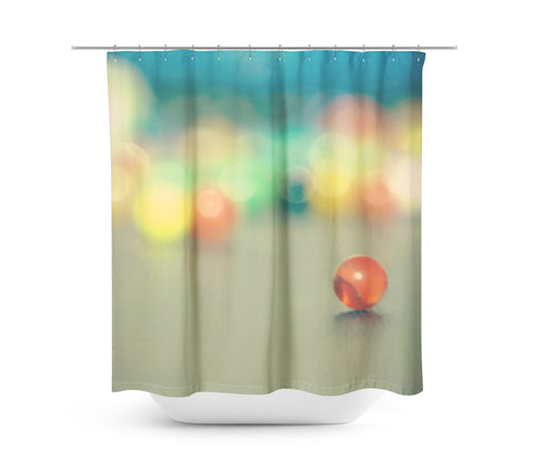 Marble Fun Shower Curtain