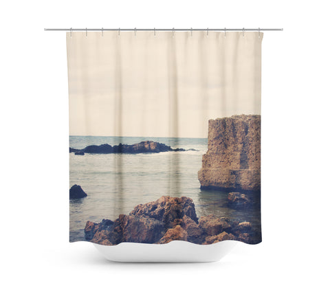 Mediterranean 1 Shower Curtain - Sylvia Coomes