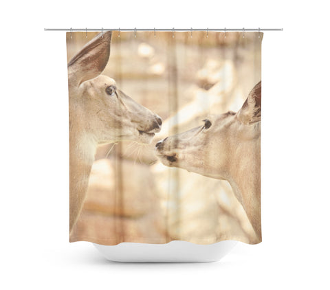 My Deer Shower Curtain - Sylvia Coomes