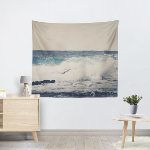 Ocean Blue 1 Tapestry - Sylvia Coomes