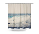 Ocean Blue 1 Shower Curtain - Sylvia Coomes