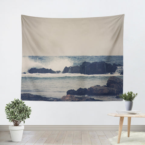 Ocean Blue 2 Tapestry - Sylvia Coomes