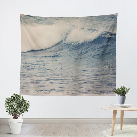 Ocean Blue 4 Tapestry - Sylvia Coomes