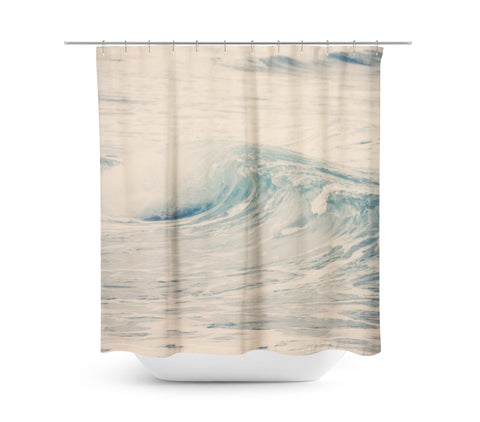 Ocean Blue 5 Shower Curtain - Sylvia Coomes