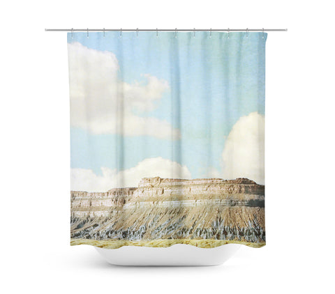 Out West Shower Curtain - Sylvia Coomes